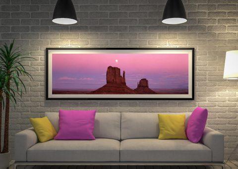 Buy Colorado Sunset Panoramic Wall Art