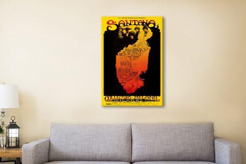 Buy Affordable Santana Poster Prints Online