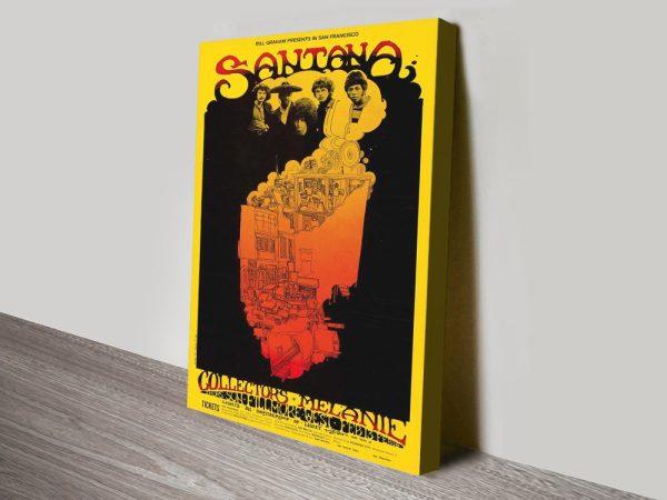 Buy a Santana Poster Print Great Gift Ideas AU