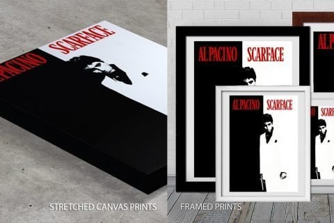 Scarface Movie Poster Print