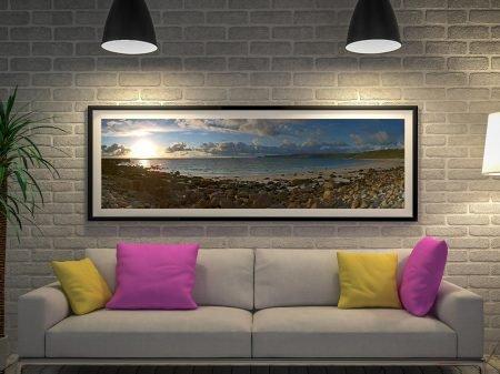 Buy a Sennen Beach Panorama Canvas Print