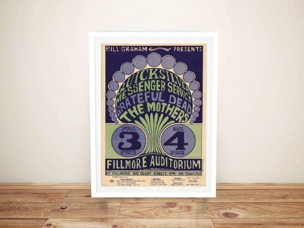 Buy a Wes Wilson Grateful Dead Gig Print
