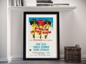 Singin' In the Rain Framed Movie Poster