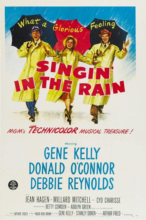 Singin in the Rain Movie Poster artwork Australia