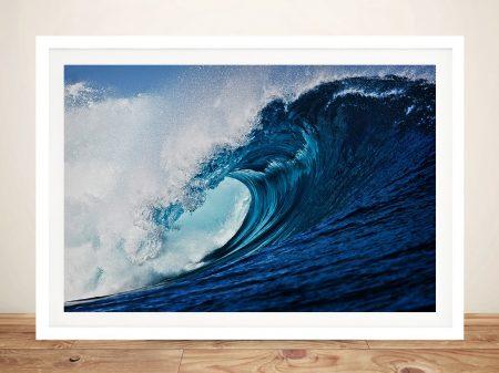Slab Hook Surfscape Print on Canvas