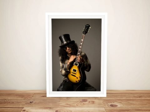 Get a Framed Canvas Print of Slash Online