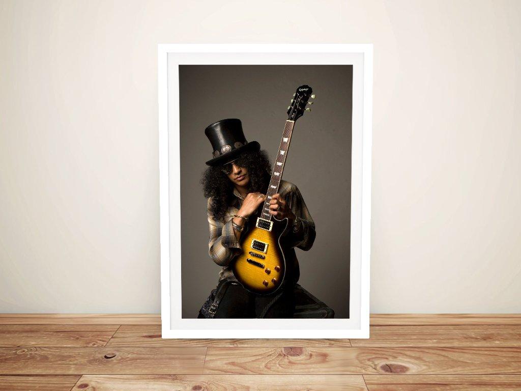 Get a Framed Canvas Print of Slash Online
