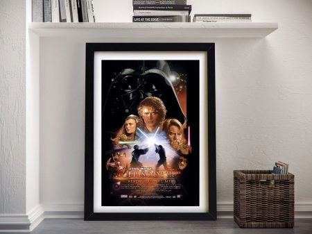 Revenge of the Sith Movie Poster on Canvas