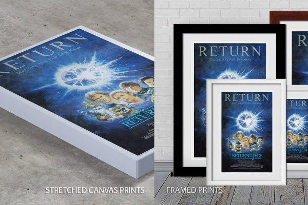 Return of the Jedi Quality Print