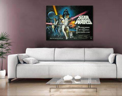 Star Wars movie poster Canvas Artwork