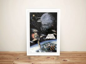Star Wars Poster Framed Wall Art