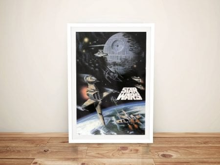 Star Wars Poster Framed Wall Art