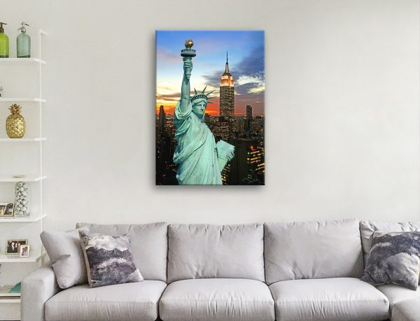 Buy Statue of Liberty Canvas Print