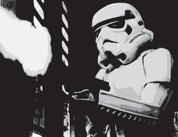 Stormtrooper Movie Canvas Wall Prints Online Australia