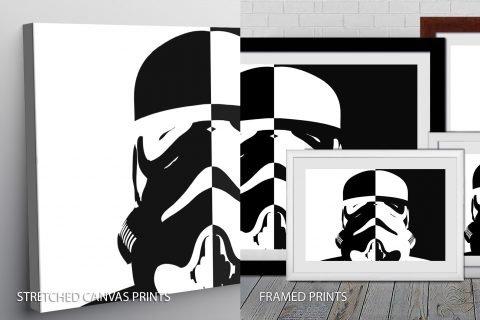 Stormtrooper Quality Print