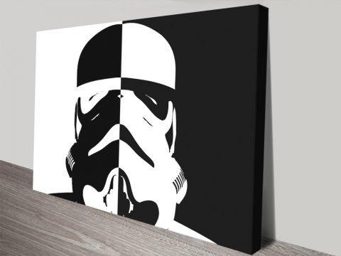 Stormtrooper Inverted canvas print
