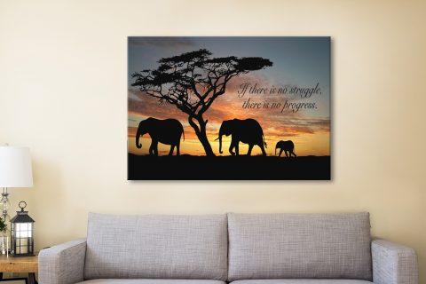 Inspirational Quote Framed Wall Art prints Australia