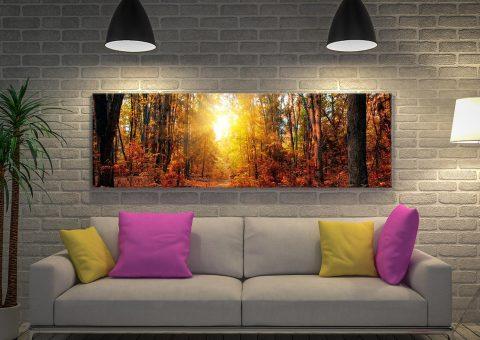 Buy Sunrise Wood Stunning Panoramic Art
