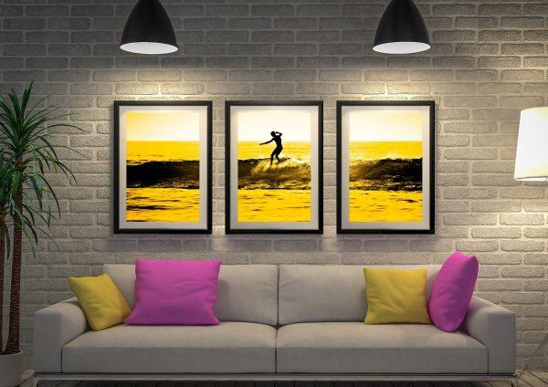 Buy Stunning Seascape Triptych Wall Art Prints