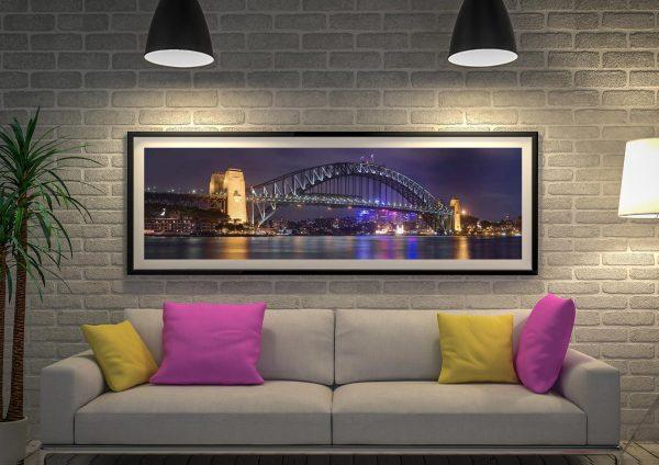 Buy Sydney Harbour Bridge Panoramic Art