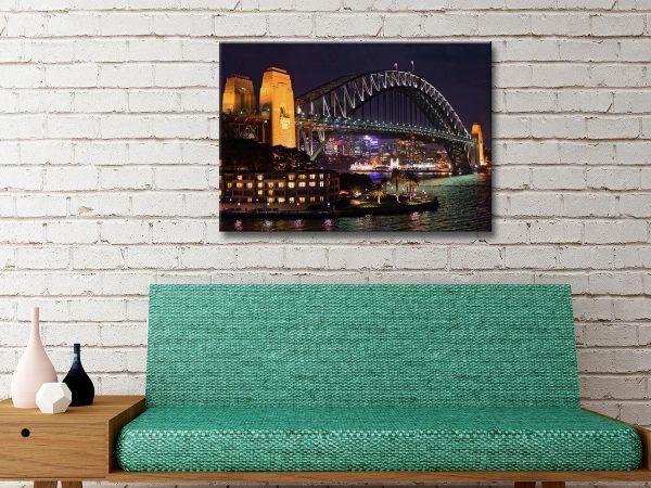 Ready to Hang Australian Skylines Art