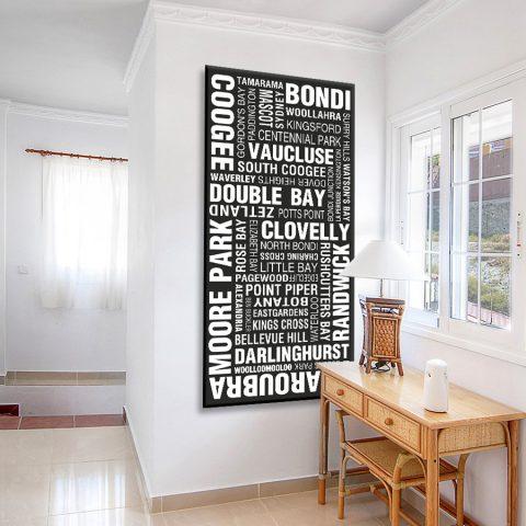 Sydney Eastern Suburbs Canvas Artwork