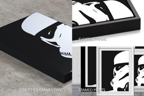 Storm Trooper Quality Image Print