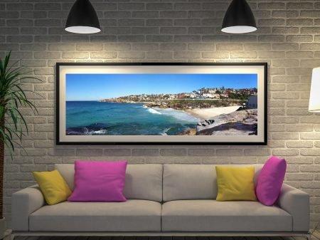 Buy Tamarama Panorama Framed Wall Art