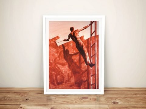 Tansey Triumph Over Mastery II Framed Wall Art