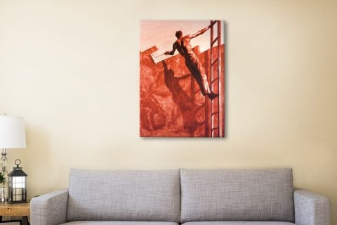 Tansey Triumph Over Mastery II canvas wall picture
