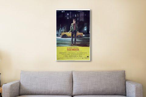Taxi Driver Movie Canvas Artwork