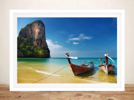Thai Paradise Framed Wall Art