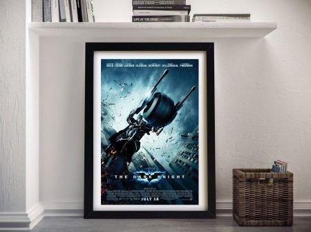 The Dark Knight Movie Poster Framed Wall Art