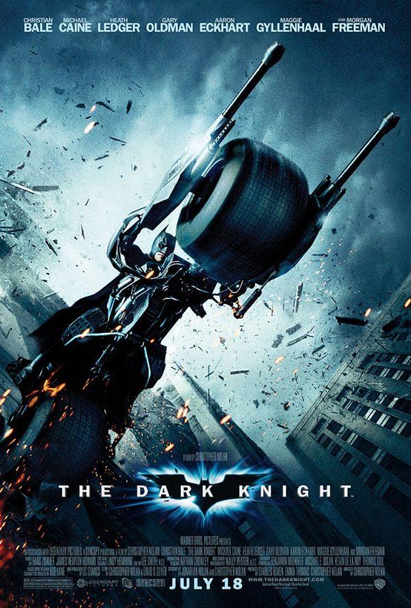 The Dark Knight Movie Poster Canvas Artwork