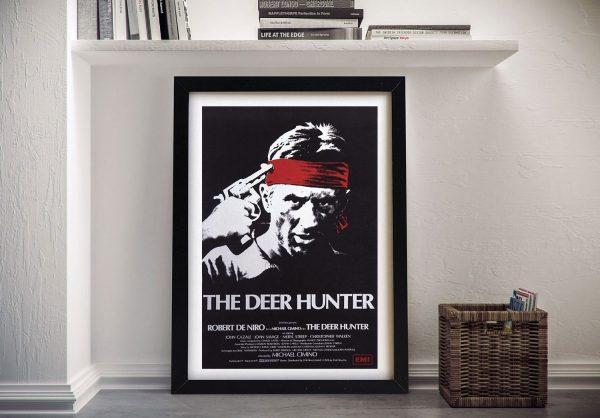 The Deer Hunter Movie Poster Framed Wall Art Brisbane