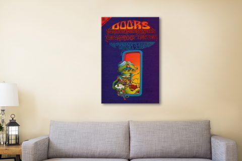 Buy The Doors Rock Memorabilia Wall Art AU