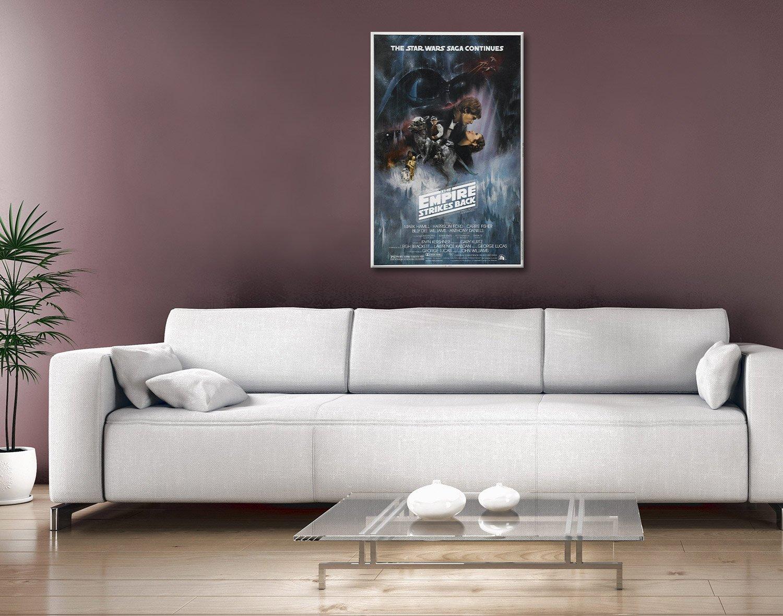 The Empire Strikes Back Movie Poster Canvas Artwork