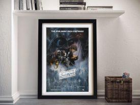 The Empire Strikes Back Framed Poster Art