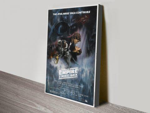The Empire Strikes Back Movie Poster Canvas Print