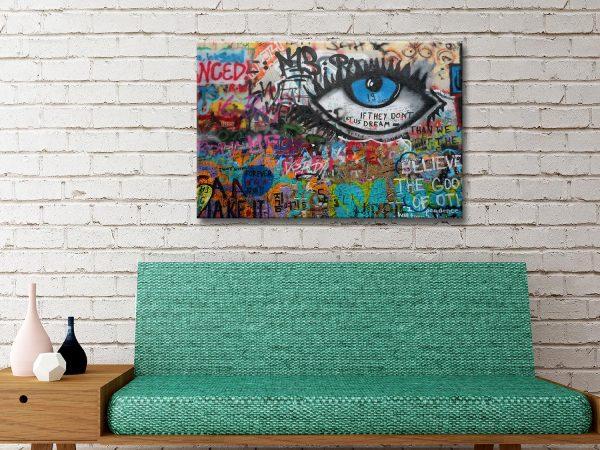Buy Graffiti on Canvas Melbourne