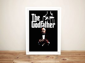 The Godfather Framed Wall Art