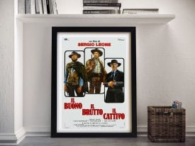 The Good The Bad & the Ugly Framed Wall Art