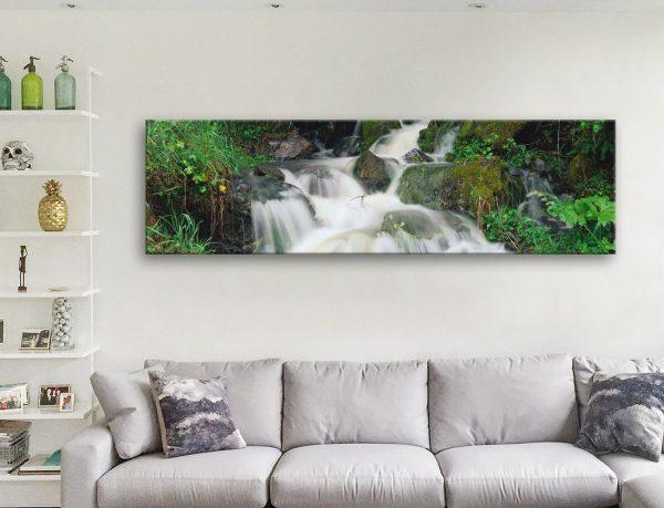 Buy Tumbling Falls Panoramic Art Gift Ideas AU