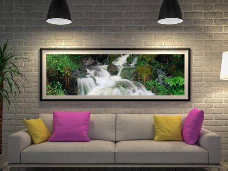 Buy Tumbling Falls Panoramic Waterfall Art