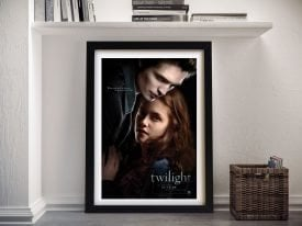 Buy a Twilight Movie Poster Canvas Print