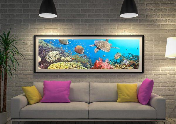 Buy an Underwater Splendour Panoramic Print