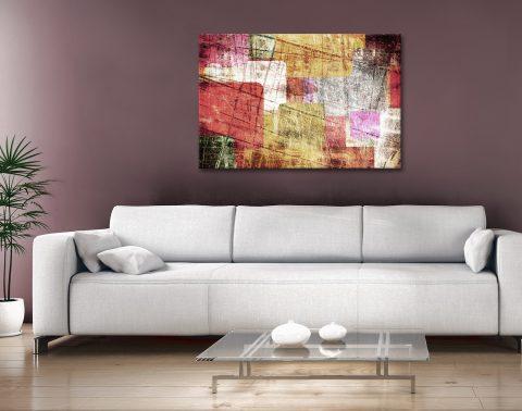 Abstract Canvas Artwork Brisbane