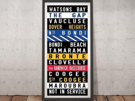 Watsons Bay Vintage Sydney Tram Artwork