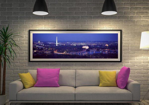 Buy a Washington DC Panoramic Canvas Print