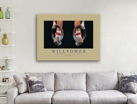 Willpower Office Decor Wall Art Cheap Online